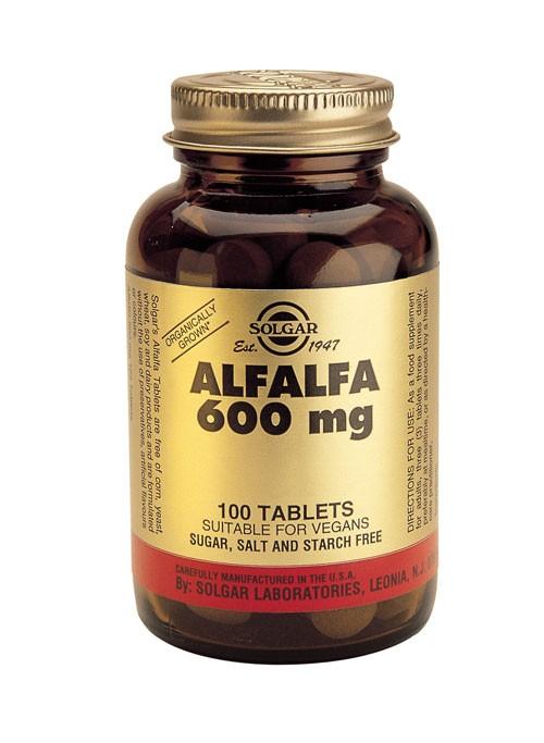Solgar Alfalfa 600 mg (100 caps)