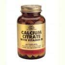 Solgar Calcium Citrate with Vitamin D3 (60 tabs)