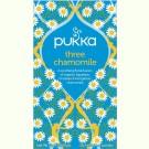 Pukka Three chamomile 3x 20st.
