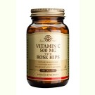 Solgar Vitamin C with Rose Hips 500 mg (100 tabletten)