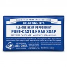 Dr.Bronner Peppermint Soap Bar 140gr