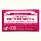 Dr.Bronner Rose Soap Bar 140gr