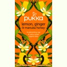 Pukka Lemon, Ginger en Manuka Honey Tea 3x 20st.