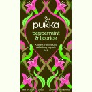 Pukka Peppermint & Licorice Herb Tea 3x 20st.